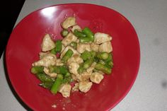 The Dolce Diet - Chicken and Asparagus Stir Fry