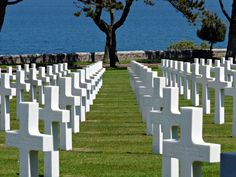 American Cemetery, Normandy, France An unbelievably beautiful and moving experience.