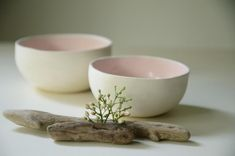 Ceramic Bowls, Stoneware, Pink Bowls, Original Gifts, Tasty Dishes, Granola, Safe Food, Tapas, Lunch