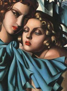 The Girls, 1930-Tamara de Lempicka - by style - Art Deco