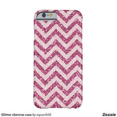 Glitter chevron case barely there iPhone 6 case