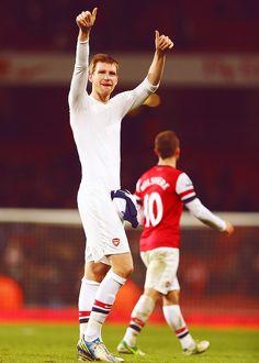 Per Mertesacker, Arsenal FC.