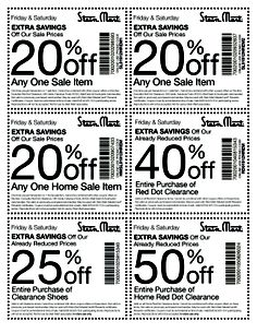 Stein mart shoe coupon