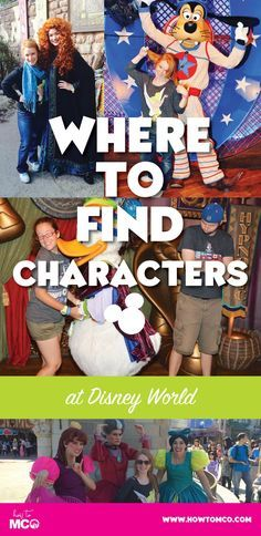 The GO TO place to find out where you can meet all your favorite DIsney characters on your next vacation.