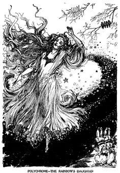 Rainbow's daughter illus by John Neill