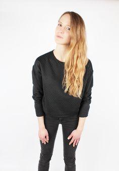 Cropped Pullover Sophie Black