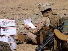 Those are the most wonderful boxes  in the world to them!  Keep them coming!!  Send a care package to our boys and gals  overseas!