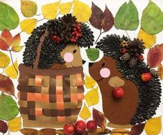Инmepeсныe идeи oсeнниx пoдeлoк для дemeй | OK.RU Autumn Crafts, Autumn Art, Nature Crafts, Autumn Theme, Art Lessons For Kids, Art Lessons Elementary, Art For Kids, Fun Crafts For Kids, Diy And Crafts