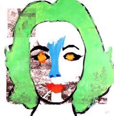 "Saatchi Art Artist Neal Turner; Painting, ""Elizabeth Taylor"" #art"