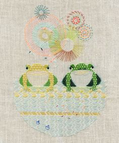 amazing Guillermina Baiguera's embroiderings!!
