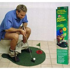 Potty putter - the perfect gag gift