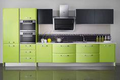 Cucina verde moderna 15