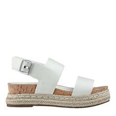 5d753a001df6 MARC FISHER LTD Oria Footbed Espadrille Sandal Espadrille Sandals