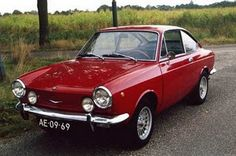 What Steve Jobs rode when he was young: Fiat 850 Coupe