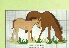 Mini Cross Stitch, Cross Stitch Animals, Cross Stitch Embroidery, Cross Stitch Patterns, Pixel Crochet, Pixel Pattern, Horse Pattern, Disney Cars, Plastic Canvas Patterns