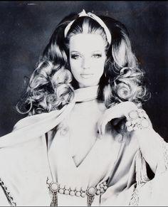 60's: Veruschka wears Spring/Summer 1969, photographed by Franco Rubartelli