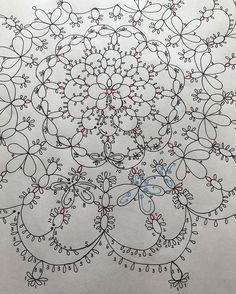 Image may contain: indoor Shuttle Tatting Patterns, Tatting Patterns Free, Bobbin Lace Patterns, Crochet Doily Patterns, Crochet Motif, Knitting Patterns, Doilies Crochet, Dress Patterns, Needle Tatting