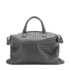 Bottega Veneta - The Convertible intrecciato leather tote - Bottega Veneta's latest silhouette, 'The Convertible', is spacious and chic. You can tote it by the top handle or fold it over to use as a clutch - a double-duty feature that makes it a savvy buy. Plush details like the intrecciato weave and velvet-soft suede lining make it a luxurious icon. Buy it now, wear it forever. seen @ www.mytheresa.com