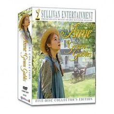 Anne of Green Gables DVD set, seizoen 1 en 2 zijn super. Seizoen 3 helaas niet zo.