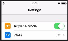 TRICK! quickly turn on Airplane Mode To Stop a text from sending