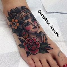 1337tattoos — illustratedgentleman: And a lovely lady/coverup ...