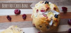 Bread Machine Berry Hot Cross Buns Recipe