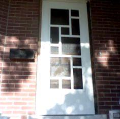 New front screen door