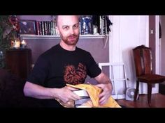 """The """"unboxing"""" of my new novel NOCTURNAL. After four years of work, I finally get to see the finished product. There is a Døg of Evil and a-capella devil-movie music."""