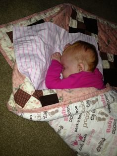 Baby K and her quilt