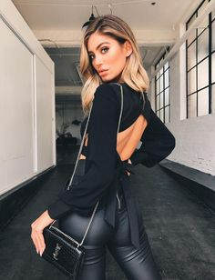 Cheri Top - Black CollectiveStyles.com ♥ Fashion | Women apparel | Women's Clothes | Dresses | Outfits | Rompers | PlaySuits | Boohoo | Express | Off The Shoulder | #clothes #denim #distressed  #fashion #dresses #women #tops #shop #maxi