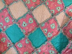 Green Apple Orchard: Easiest Quilt Ever! The Rag Quilt Tutorial