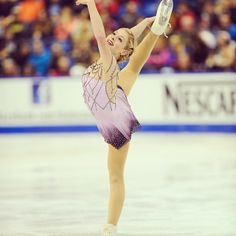 Gracie Gold at Skate Canada
