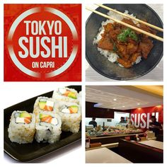 @caprionviaroma  is excited to announce the opening of Tokyo sushi on Capri. Tokyo sushi is a sushi train and also serves delicious hot Japanese food including bento boxes yakitori sizzling plates and much more! Open 7 days a week from 10am to 10pm. Tel -55706476. #caprionviaroma #covr #uniquelycapri #tokyosushioncapri #tokyosushi #sushi #springroll #isleofcapri #goldcoast #japanese #japan #lunch #dinner #donburi #delicious #tuna #tofu #tempura #aburi #nigiri #salmon #sashimi #sushiroll…