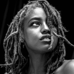 A sneaky peak from my morning with the amazing Gregory Prescott. #locs #blackandwhite