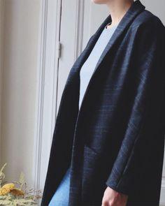 France Duval Stalla - Atelier Scammit / patron de couture manteau
