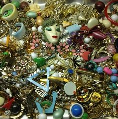 Great Crafter Lot of Junk Jewelry