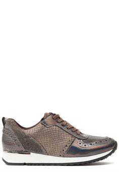 Ann Rocks Sneaker Taupe | Online Kopen | Gratis verzending & Retour | Ziengs.nl €45