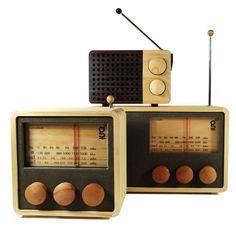 Areaware Magno Wooden Radio