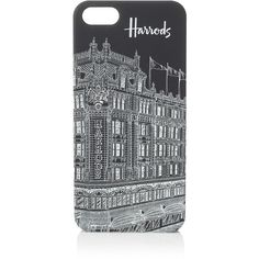 Harrods Building iPhone 5 Case ($23) ❤ liked on Polyvore