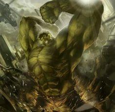 Hulk by Deryl Braun Comic Book Characters, Marvel Characters, Comic Character, Comic Books Art, Comic Art, Comic Pics, Book Art, Character Design, Marvel Comics Art