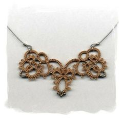tatted necklace by rosella