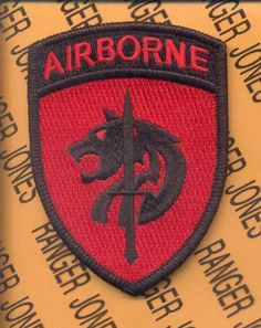 Socafcom Special Operations Command Africa Airborne Patch M E | eBay