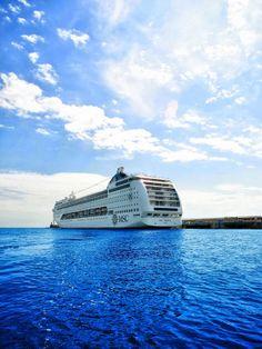 MSC Lirica :Contempler la mer, l'écouter et respirer le grand air... rien de tel pour se ressourcer!
