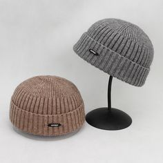 6577a21fec6 Men Women Couples Adjustable Solid Corduroy Velvet Brimless Hats Retro  Vogue Crimping Bucket Cap is hot sale on Newchic.