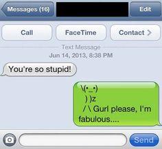 You're stupid - iPhone Fun Bild   Webfail - Fail Bilder und Fail Videos