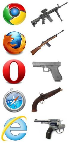 I think Opera is actually far better than Firefox but whatever. The point here is clear