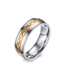 SIZZZ 100% Titanium Ring for Women Jewelry Female Wedding Band Ring