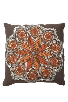 This pillow includes adown-filled with removable insert    Dimensions:18 x 18 down insert   Aztec Pillow Home & Gifts - Home Decor - Pillows & Throws Texas