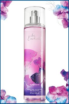 Light & refreshing fragrance in every mist — perfect for making every day a shimmering fantasy! #BeEnchanted