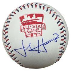 Josh Harrison Pirates Signed Official MLB 2014 All-Star Game Baseball JSA